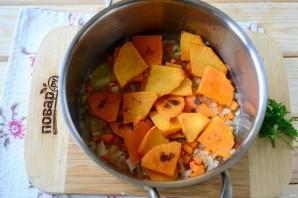 Тыквенный суп с сыром - фото шаг 4