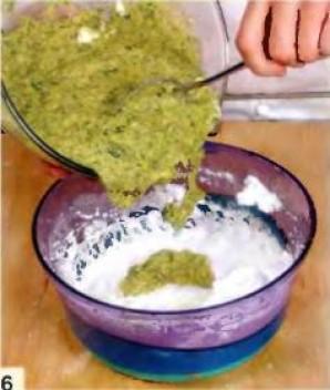 Суфле из брокколи и трёх видов сыра  - фото шаг 6