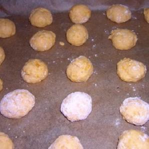 Клецки из тыквы с кориандром Алмонд Песто - фото шаг 6