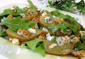 Теплый салат с грушей - фото шаг 7