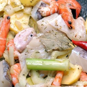 Рыбный суп с фенхелем - фото шаг 8