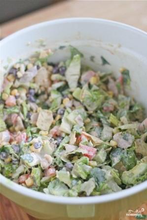 Шопский салат - фото шаг 6