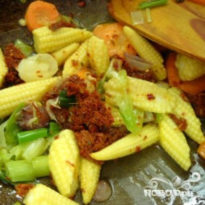 Тофу с овощами - фото шаг 3