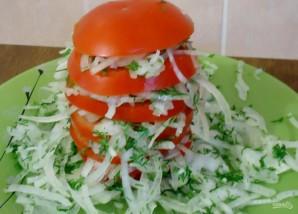 Салат к узбекскому плову - фото шаг 5