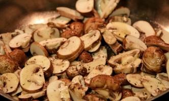 Лазанья с баклажанами и грибами - фото шаг 2