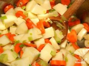 Овощной суп с перловкой - фото шаг 1