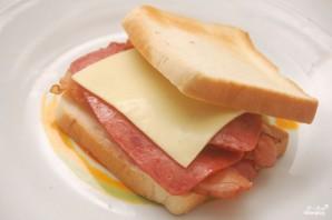 Сэндвич с беконом - фото шаг 3