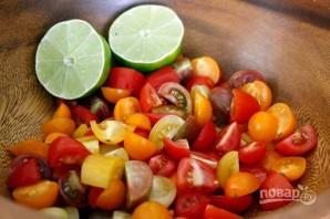 Салат с рукколой - фото шаг 3