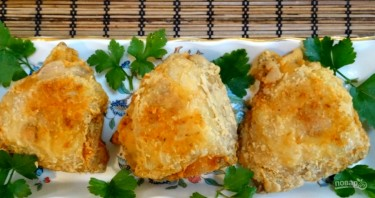 Жареные хрустящие куриные бедрышки - фото шаг 6