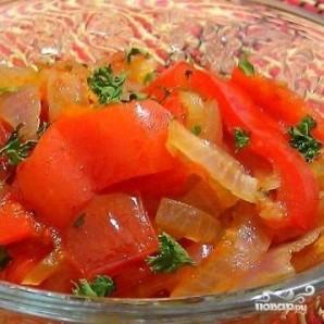 Лечо из болгарского перца - фото шаг 8