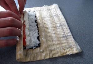 Суши с семгой - фото шаг 5
