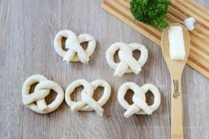 Сырные крендельки - фото шаг 4
