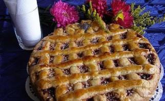 Открытый пирог с повидлом - фото шаг 8