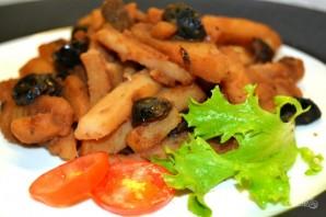 Картофель с оливками - фото шаг 7