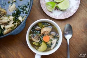 Куриный суп с овощами - фото шаг 8