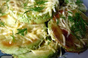 Жареные кабачки с сыром - фото шаг 5