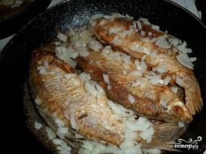 Жареная рыба чебак - фото шаг 3