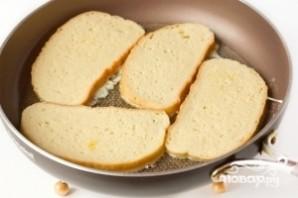 Гренки на сковороде - фото шаг 4
