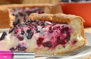 Пирог с жимолостью - фото шаг 5