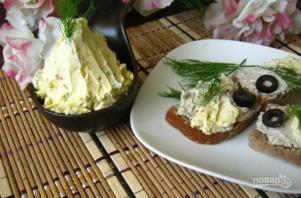 Яичное масло с горчицей - фото шаг 4