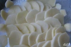 Картофельная запеканка с рыбой - фото шаг 1