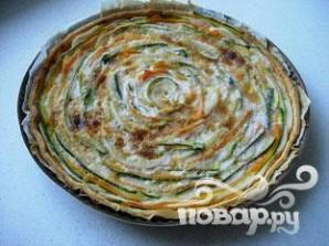 Овощной пирог - фото шаг 12