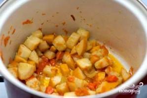 Овощной мисо-суп - фото шаг 3