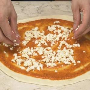Пицца Margherita - фото шаг 4