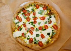 Пицца с соусом песто - фото шаг 5