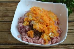Голубцы, фаршированные мясом и рисом - фото шаг 3