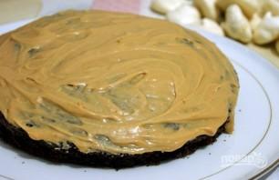 Бисквитный торт с безе и орехами - фото шаг 10