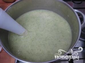Сливочный суп с брокколи и картофелем - фото шаг 5