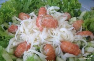 Салат с раковыми шейками - фото шаг 4