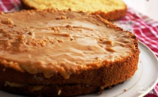 Медовый бисквит - фото шаг 7