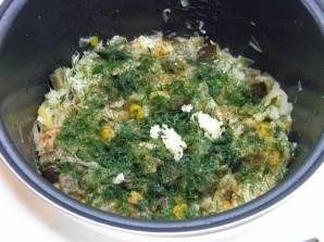Солянка с баклажанами и капустой на зиму - фото шаг 6
