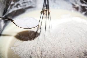 Тесто на кефире с капустой - фото шаг 5