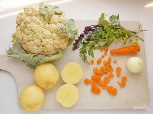Вегетарианский суп из цветной капусты - фото шаг 2