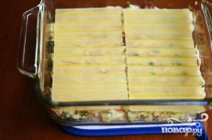 Лазанья с цуккини и беконом - фото шаг 4