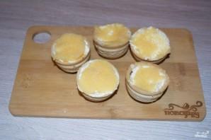 Тарталетки с икрой и сливочным сыром  - фото шаг 4