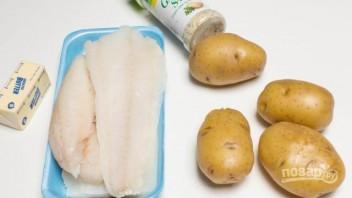 Картофель с треской - фото шаг 1
