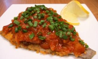 Рыба, жаренная под соусом - фото шаг 6