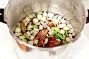 Бульон из индейки с овощами - фото шаг 4