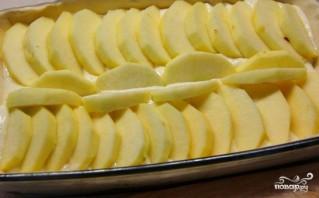 Слоеный пирог с творогом и яблоками - фото шаг 3