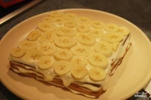 Творожный торт из печенья - фото шаг 5
