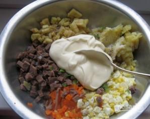 Салат из говяжьего языка - фото шаг 10