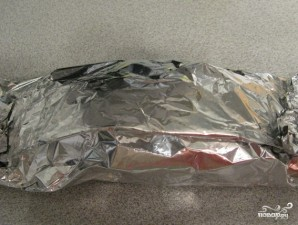 Куриная грудка, фаршированная моцареллой - фото шаг 5