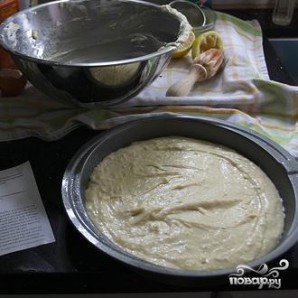 Пряный лимонный пирог с глазурью - фото шаг 5