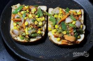 Сэндвич с овощами - фото шаг 4