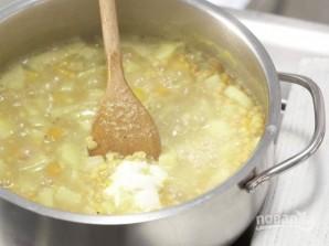 Рецепт супа с гренками - фото шаг 6