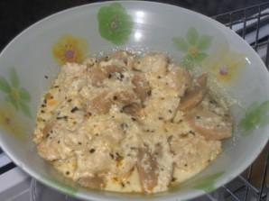 Курица с грибами - фото шаг 4